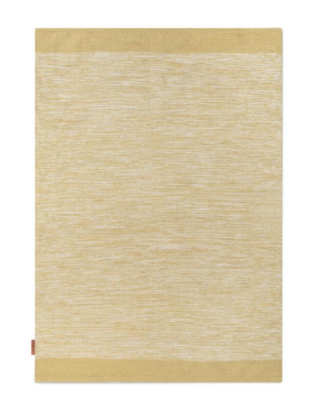 Melange rug Dusty Yellow