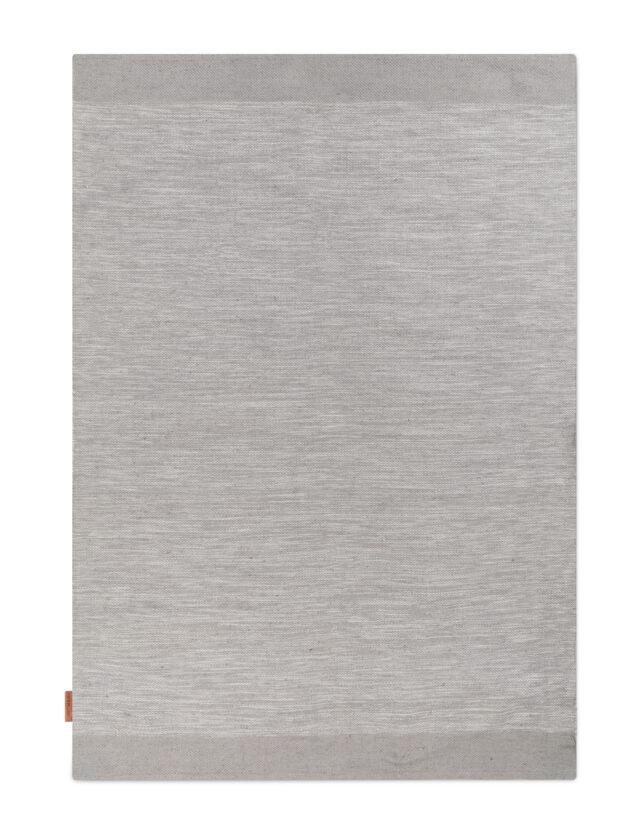 Melange rug Grey