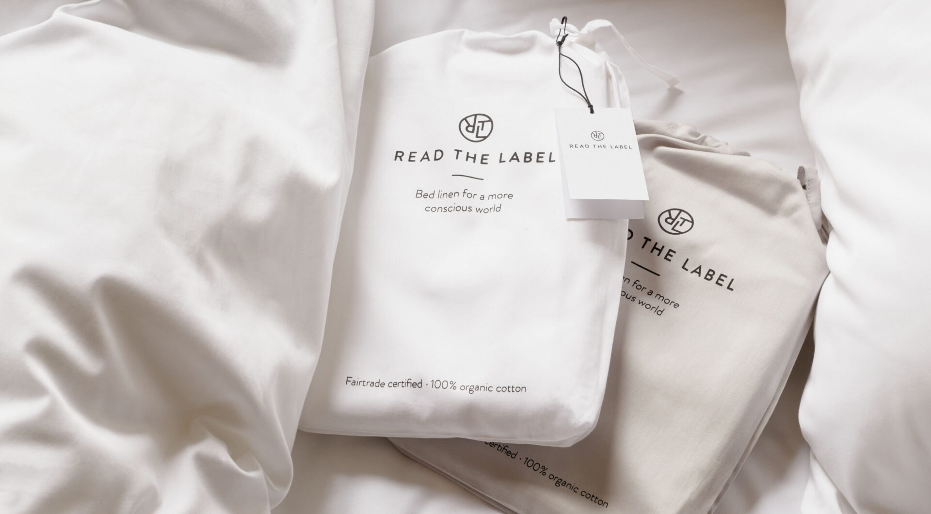 Sustainable bed linen by Read The Label